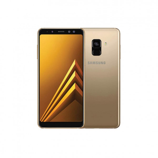 SAMSUNG SMARTPHONE A8 GOLD FULL PACKAGE