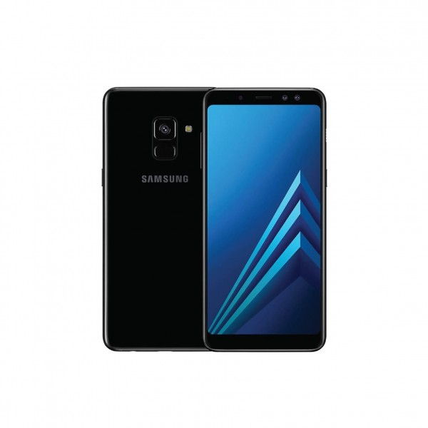 SAMSUNG SMARTPHONE A8+ BLACK FULL PACKAGE