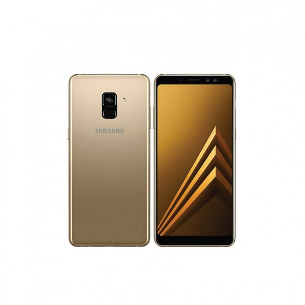 SAMSUNG SMARTPHONE A8+ GOLD FULL PACKAGE