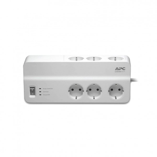 APC ESSENTIAL SURGEARREST 6 OUTLETS