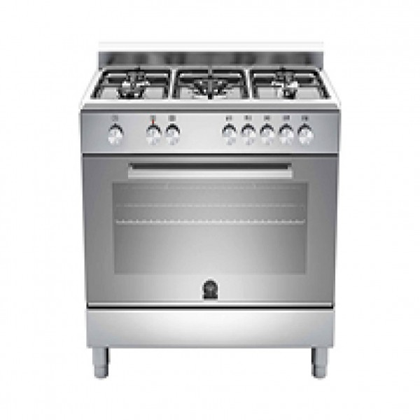 LA GERMANIA COOKER 90CM BOTTLE 4GAS+1TB FONT  WHITE