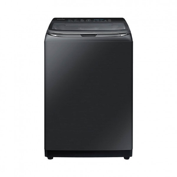 SAMSUNG WASHER TOP LOAD 22KG  BLACK STAINLESS