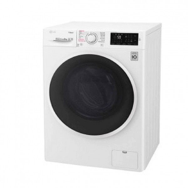 LG WASHER 8KG, SILVER, RPM 1400, DIRECT DRIVE MOTOR, 6 MOTIO