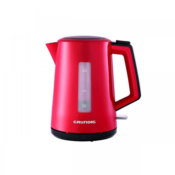 Grundig Kettle 1 7l 2200w Red Small Kitchen Appliances Abed Tahan