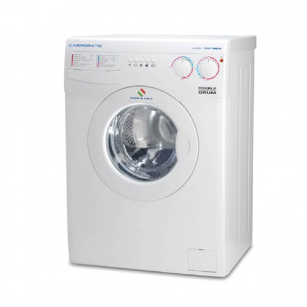 CAMPOMATIC WASHER FRONT LOAD 8KG 1000RPM WHITE