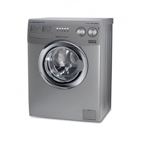 CAMPOMATIC WASHER FRONT LOAD 8KG 1000RPM SILVER