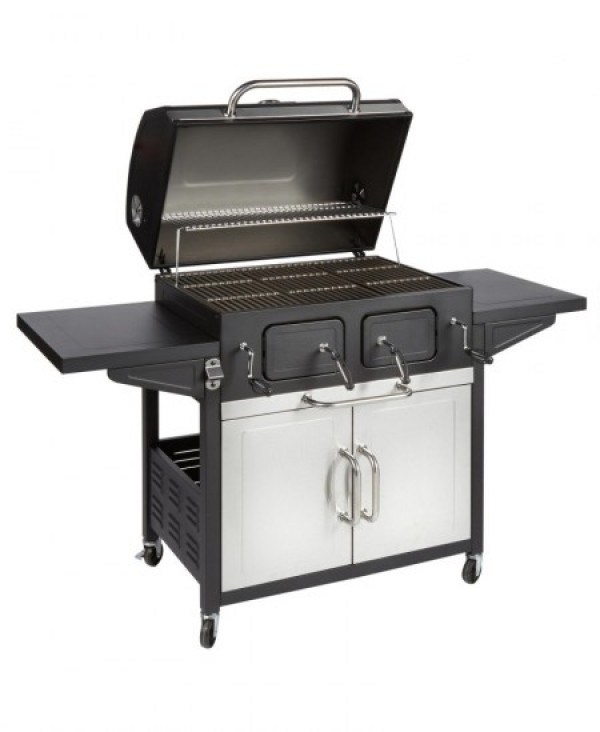 CHARCOAL GRILL 30 DELUXE W 156.0 X D 70.0 X H 120.0 CM