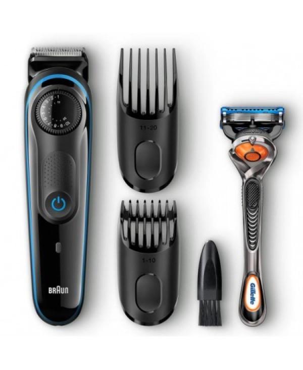 BRAUN BEARD TRIMMER 1MM + GILLETTE