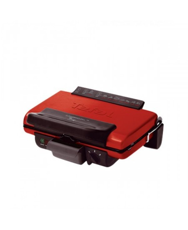 TEFAL CONTACT GRILLS 1700W RED (GC302526)