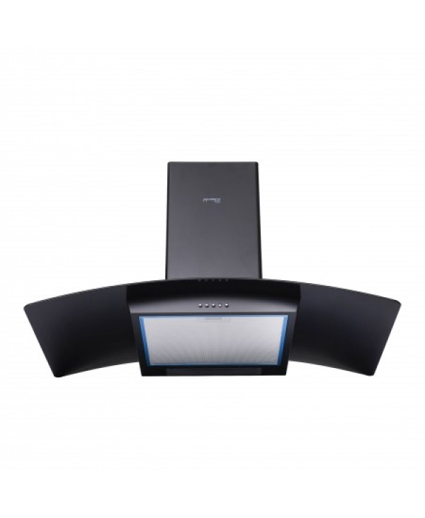 SUPER CHEF WALL MOUNTED HOOD 90 CM BLACK