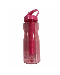 UBI, Water Bottle Plastic with ice tube for Girls700ml  Pink