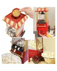 SUPERCHEF POP CORN MAKER RED COLOR