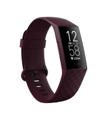 FITBIT Charge 4 Fitness and Activity Tracker - Rosewood