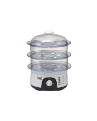 BLACK & DECKER FOOD STEAMER 775 W  3 TRAYS