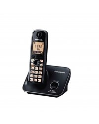 PANASONIC SINGLE 2.4GHZ CORDLESS PHONES W CALLER ID & SPEAKE