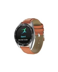 SMART WATCH X10 BROWN LEATHER