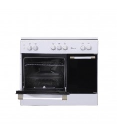 SUPER CHEF COOKER BOTTLE 90CM 5 GAS BURNERS WHITE
