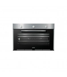 GORENJE OVEN 90CM GAS GAS TIME DESIGN FRONT PANEL STAINLESS