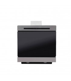 SUPER CHEF WALL MOUNTED HOOD 90CM BLACK & STAINLESS