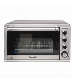 Super Chef Electric Oven 45L 2000W Black