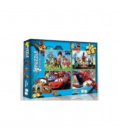 DREAM PLAY PAW PATROL DOUBLE FACE PUZZLE
