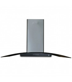 SUPER CHEF OVAL GLASS 90 CM WALL MOUNTED HOOD