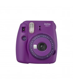 INSTAX MINI 9 CLEAR PURPLE INSTANT CAMERA