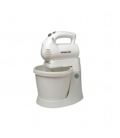 SUPER CHEF HAND MIXER 400 W WITH BOWL 3L