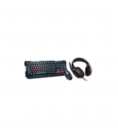 GENIUS GAMING COMBO KB + MOUSE + HEADSET -ENG/ARB
