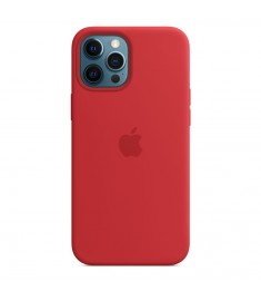 APPLE SILICON CASE FOR IPHONE 12 PRO MAX RED