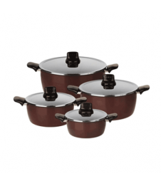 TEFAL SET STEWPOTS 18*22*26*30 CM PLEASURE