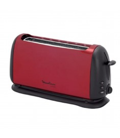 Moulinex Toaster 1000w 2 Slots Red