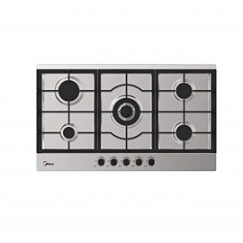 MIDEA HOB 90CM 5 GAS BURNERS SAFETY IGNITION STAILESS