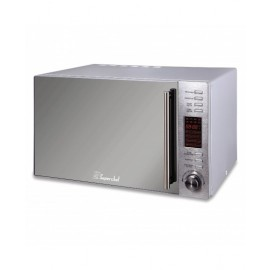 Super Chef Microwave 30L 1000W,With Grill,Silver