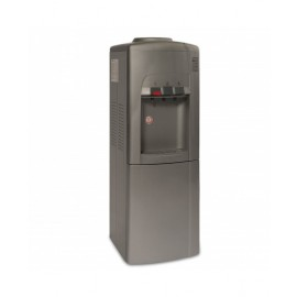 Blueberry Water Dispenser 3 Taps With Cabinet Silver
