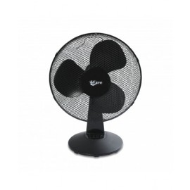 WAVE TABLE FAN 16 INCH 40 W 3 SPEEDS BLACK