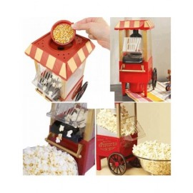 SUPERCHEF-POP CORN MAKER-RED COLOR