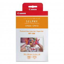 CANON PAPER FOR PHOTO PRINTER PACK OF 108 SHEETS+INK
