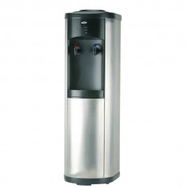 Tcl Water Dispenser 2 Taps Without Cabinet Black &Stainless