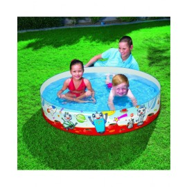BEST WAY KIDS RIGID WALL PADDLING POOL 1.52M*0.25M