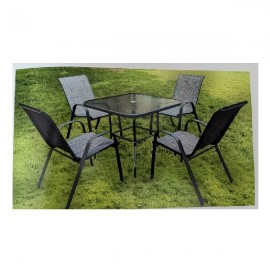 Elegant Dinning Table + 4 Chairs