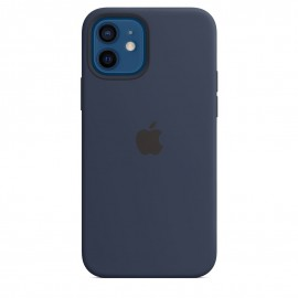 APPLE SILICON CASE FOR IPHONE 12/12 PRO  BLUE