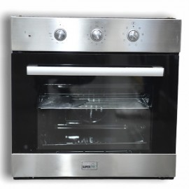 SUPER CHEF Oven Electric 60cm With Convection Inox