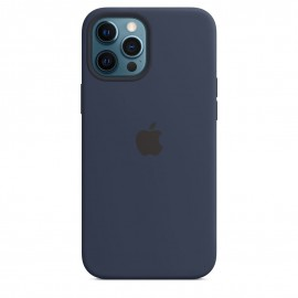 APPLE SILICON CASE FOR IPHONE 12 PRO MAX BLUE