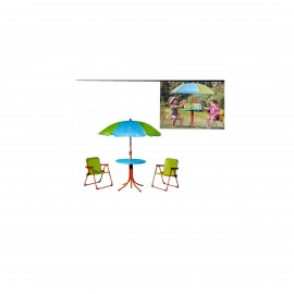 OUTDOOR TABLE AND 2 CHAIRS FOR KIDS