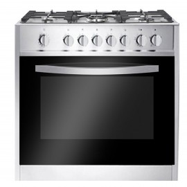 CAMPOMATIC Cooker Wide 90 cm 5 Gas Burners Stainless Safety