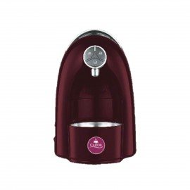 CADOR C14 LIVING ITALIAN ESPRESSO MACHINE COLOR BURGUNDY,