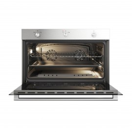 CAMPOMATIC Oven 90 cm Gas 130L Convection Safety Stainless