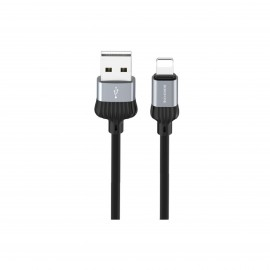 BOROFONE DIGNITY CHARGING DATA CABLE FOR TYPE-C GREY