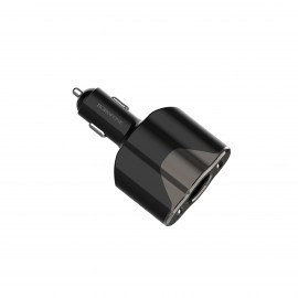 BOROFONE CAR CHARGER DUAL PORT+CIGARETTE LIGHTER SOCKET